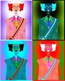 Клоун для президента Стоковые Фотографии RF