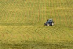 к работе трактора Стоковая Фотография