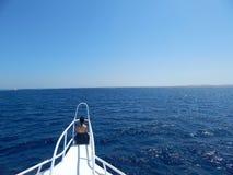 К солнцу и горизонту Стоковая Фотография RF