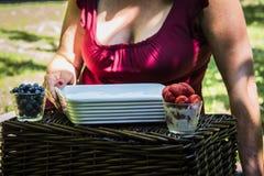 Клубника и ягода Стоковые Изображения