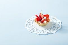 клубника торта домодельная Стоковая Фотография RF