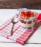 клубники десерта сладостные Стоковое Изображение RF