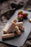 клубники десерта сладостные Стоковое Фото