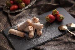 клубники десерта сладостные Стоковая Фотография RF