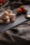 клубники десерта сладостные Стоковые Фотографии RF