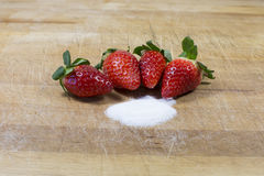 Клубники, красный плодоовощ Стоковое фото RF