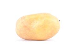 клубни картошек на изолированной еде белой картошки предпосылки здоровой Vegetable Стоковые Изображения RF