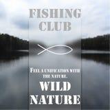 Клуб 1 рыбной ловли Стоковые Изображения