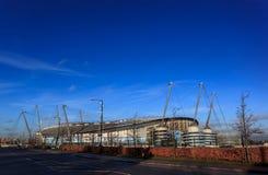 Клуб футбола Manchester City, Англия Стоковые Изображения