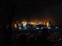 Клуб Orkestar Shantel & Bucovina Стоковое Фото