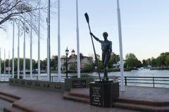 Клуб rowing Марины Ла Стоковая Фотография