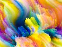 К цвету фрактали цифров Стоковые Изображения