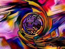 К цвету цифров Стоковое Фото