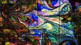 К цифров цветное стекло Стоковые Изображения RF