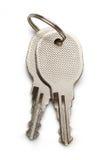 2 ключа хрома Стоковое Изображение RF