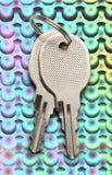 2 ключа хрома Стоковые Изображения RF