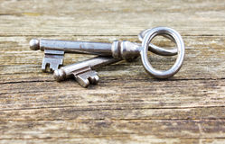 2 ключа Стоковые Изображения RF