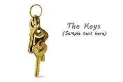 Ключевая цепь Стоковая Фотография RF