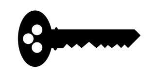 ключевой силуэт Стоковое Изображение RF