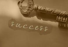 ключевой успех к Стоковые Фотографии RF