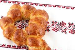 Ключевой хлеб challah формы Стоковая Фотография