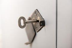 ключевой keyhole старый Стоковое фото RF