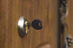 ключевой keyhole Стоковые Изображения
