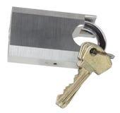 ключевой padlock Стоковые Изображения RF
