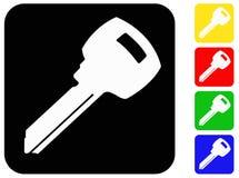 Ключевые значки Стоковая Фотография RF