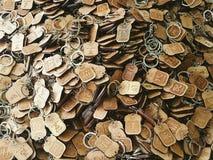 Ключевые цепи Стоковая Фотография RF