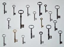 Ключи 19 антиквариата Стоковые Изображения RF