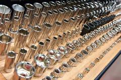 Ключи гнезда в магазине Стоковое Изображение RF