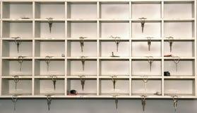 Ключи гостиницы на приеме Стоковое фото RF