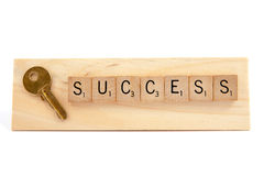 Ключи к концепции успеха Стоковые Фотографии RF