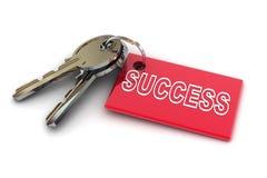 Ключи к успеху Стоковое фото RF
