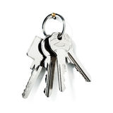 Ключи на кольце Стоковая Фотография