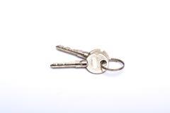 Ключи дома покупки крупного плана дома Стоковые Изображения