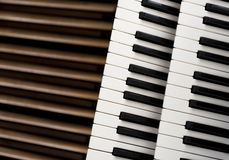 Ключи органа церков Стоковые Фото