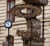 Ключи Прага стоковая фотография rf