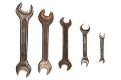 Ключи различного размера старые Стоковые Изображения