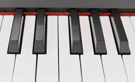 Ключи рояля стоковые изображения