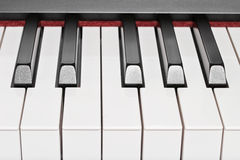 Ключи рояля стоковые фото