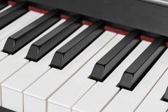 Ключи рояля стоковое изображение rf