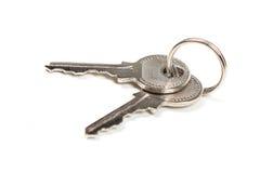 ключи серебрят 2 Стоковые Фото