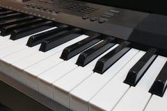 Ключи синтезатора Стоковая Фотография