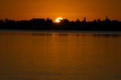 Ключи Флориды захода солнца Стоковые Изображения