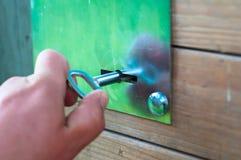 Ключ амбара Стоковая Фотография RF
