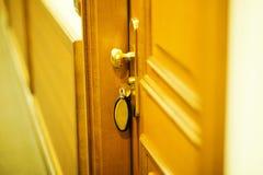 Ключ гостиницы Стоковая Фотография RF