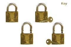 Ключ и ключ для всех замков Стоковые Изображения