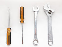 Ключ и отвертка Стоковое фото RF